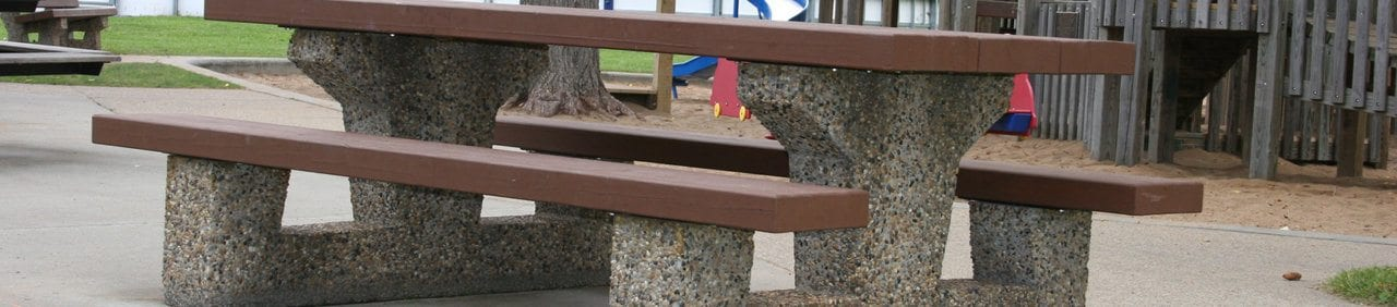 Precast Concrete Picnic Tables