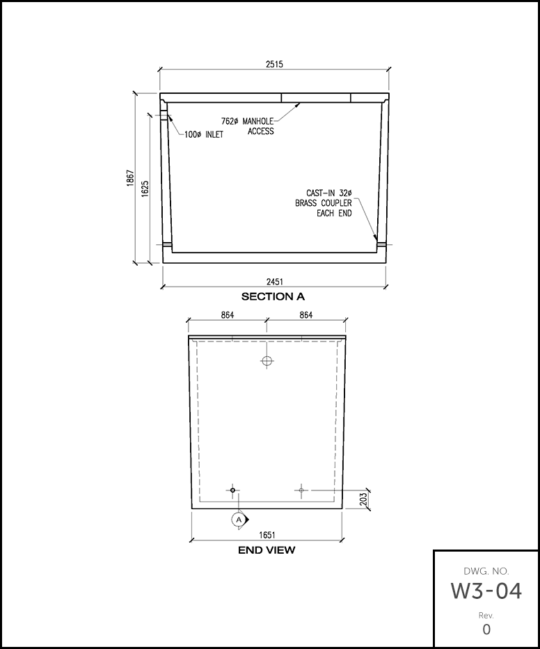 M 1400 holding tank schematic